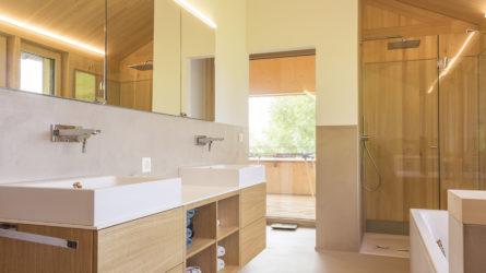 Referenz Dorfinstallateur Planken Liechtenstein Einfamilienhaus Bad