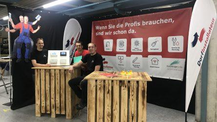 Stand Industrietage Sennwald Dorfinstallateur